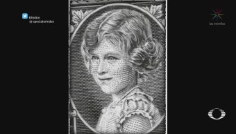Evolución de la imagen de la reina Isabel II