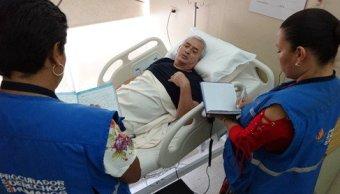 Expresidente de Guatemala Otto Pérez paciente de alto riesgo