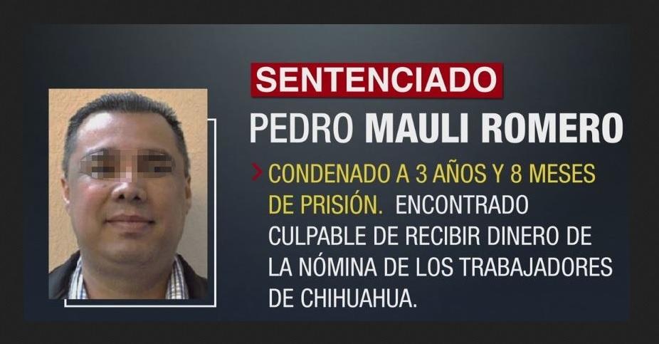Exsecretario Finanzas del PRI Chihuahua, declarado culpable