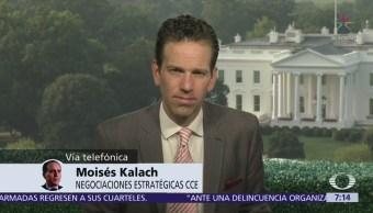Falta el último jalón para el TLCAN, dice Moisés Kalach