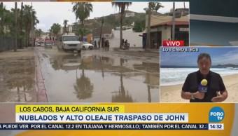 Cabos Inicia Labores Limpieza Tras Paso Huracán John