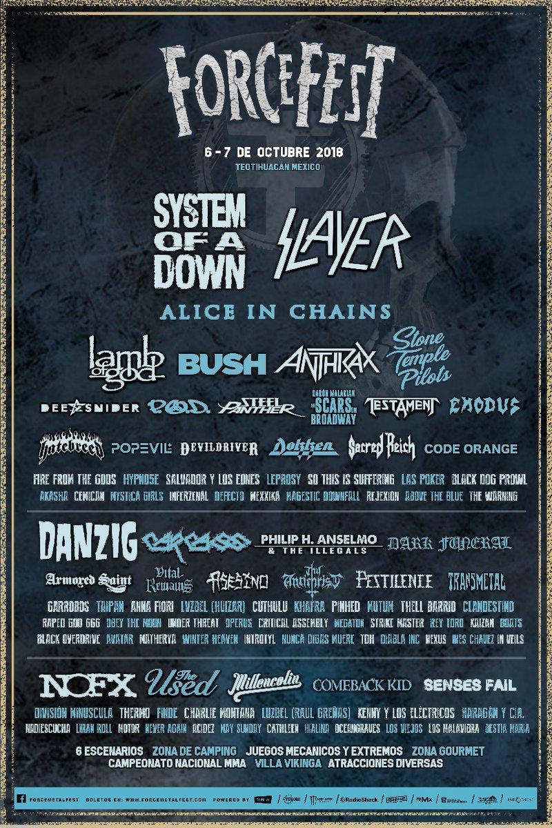 Teotihuacán será escenario de un festival de metal y rock pesado 5627e5f1e7f5