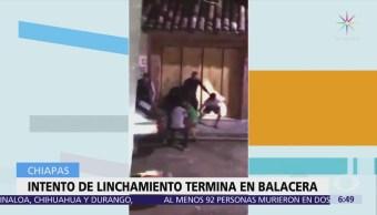 Frustran intento de linchamiento en San Cristóbal Chiapas