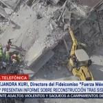'Fuerza México' presenta informe sobre reconstrucción