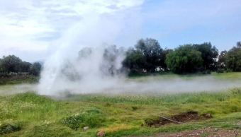 Fuga de gas natural en el Edomex e Hidalgo