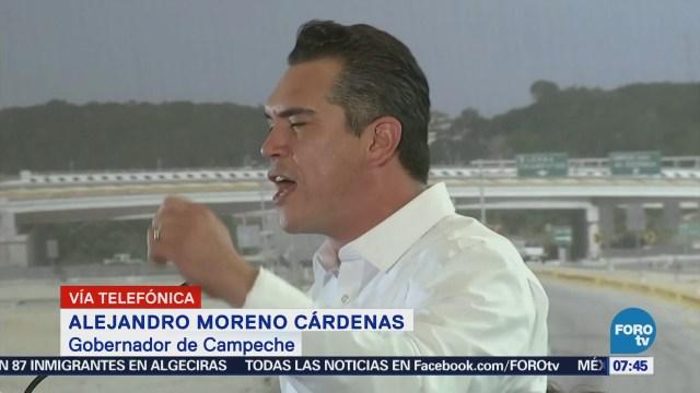 Gobernador de Campeche buscará relación coordinada con AMLO