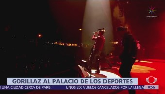 Gorillaz cierra gira mundial en la CDMX