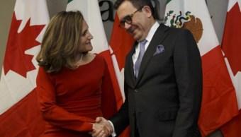 Canadá y México buscan retomar TLCAN de forma trilateral