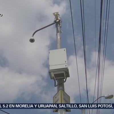 Habrá prueba de audio de altavoces de alerta sísmica cada mes