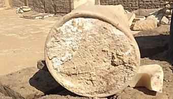 Hallan en tumba egipcia el queso más antiguo del mundo