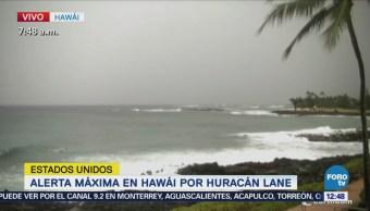 Hawai está en alerta máxima por el huracán 'Lane'