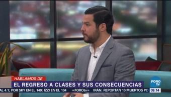 Historias Que Se Cuentan El Regreso A Clases Especialista En Difusión De Datos, Vicente Amador