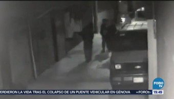 Captan Asalto Peatones Gam Colonia San Juan Guadalupe Ticomán Delegación Gustavo A. Madero
