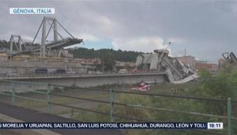 Identifican a quienes murieron en caída del puente Morandi