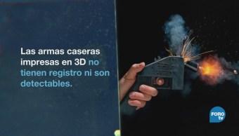 Imprimir armas en 3D, es fácil y fuera de la ley