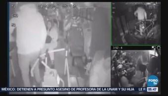 Incrementan asaltos en trasporte público en CDMX