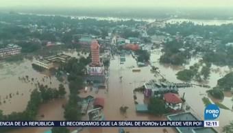 India sufre severas inundaciones provocadas por lluvias