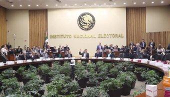 INE aprueba financiamiento público para partidos políticos