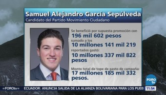 INE: Senadores electos Nuevo León no rebasaron gastos