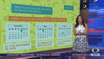 Inicia ciclo escolar 2018-2019 de educación básica en México