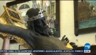 Inician Festejos Cristo Negro San Román Campeche Santo Patrono Pescadores