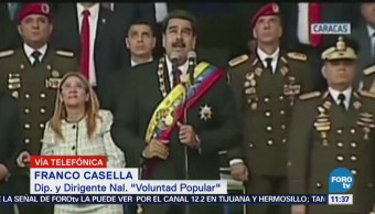 Investigan el supuesto atentado contra Nicolás Maduro