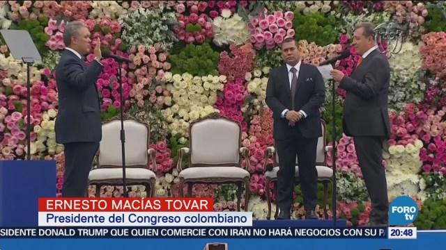 Iván Duque toma posesión como presidente