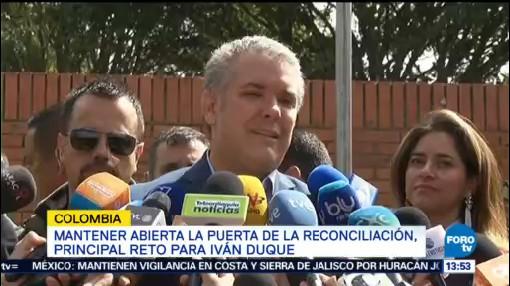 Iván Duque Retos Colombia Presidencia