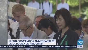 Japón conmemora el 73 aniversario de la tragedia de Hiroshima