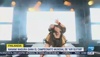 Japonesa Gana Campeonato Mundial Guitarra Aire