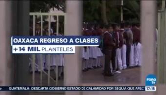 Miles De Estudiantes Regresan A Clases Oaxaca Escuelas De Oaxaca Autoridades Estatales