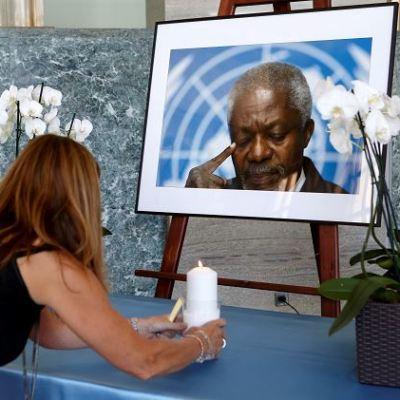 Kofi Annan será enterrado el 13 de septiembre en Ghana
