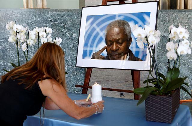 Kofi Annan entierro será el 13 de septiembre en Ghana