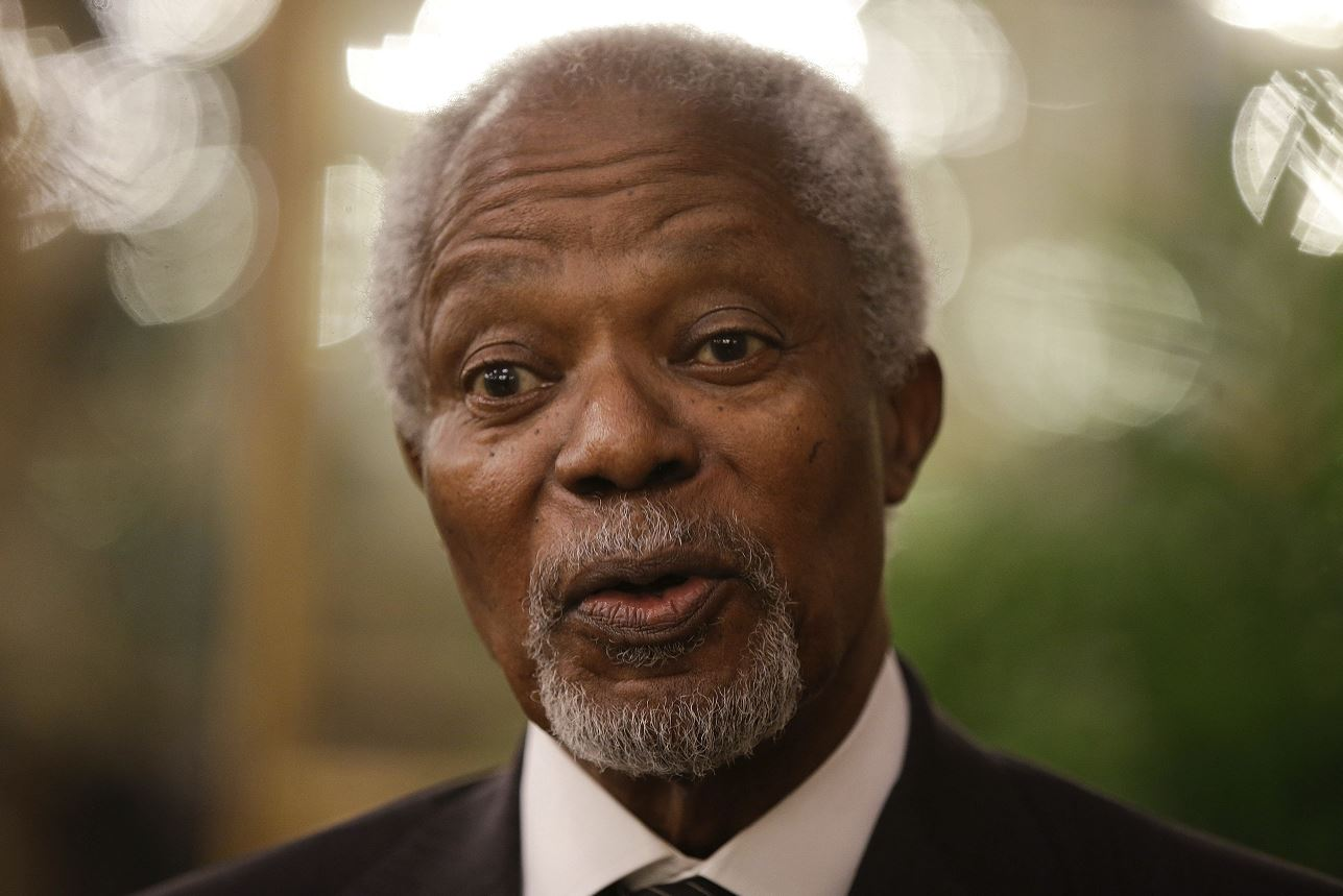 Muere Kofi Annan, exsecretario de la ONU y Nobel de la Paz