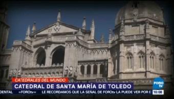 La catedral de Santa María de Toledo, gran obra de estilo gótico