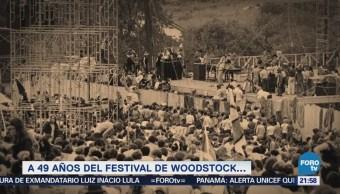 Efeméride En Una Hora Festival Woodstock