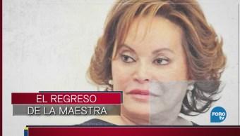 Es inocente Elba Esther Gordillo