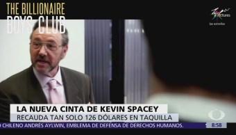 La nueva cinta de Kevin Spacey recauda 126 dólares en taquilla