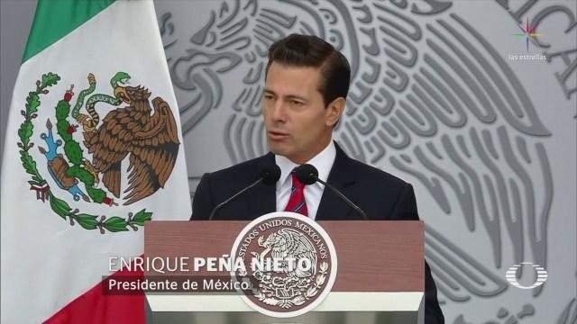 Instituciones Seguirán Con Cambio Gobierno EPN