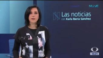 Las Noticias, con Karla Iberia: Programa del 13 de agosto de 2018