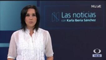 Las Noticias, con Karla Iberia: Programa del 15 de agosto de 2018