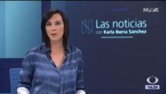 Las Noticias con Karla Iberia Programa