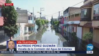 Lluvias en Chimalhuacán dejan como saldo dos muertos