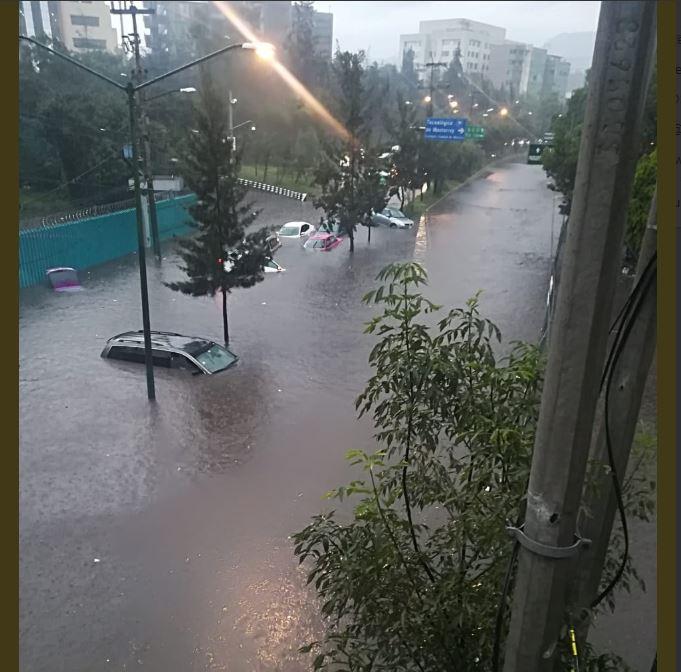 gratis segundo piso periferico lluvia cdmx hoy