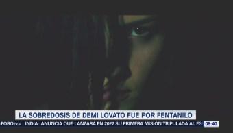 Demi Lovato fue afectada por sobredosis oxycontin fentanilo