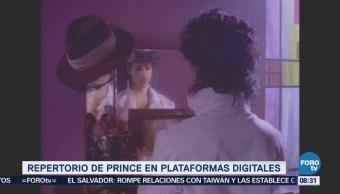 #LoEspectaculardeME: Discos de 'Prince' llegan a las plataformas digitales