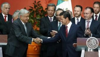 AMLO y EPN inician proceso de transición presidencial