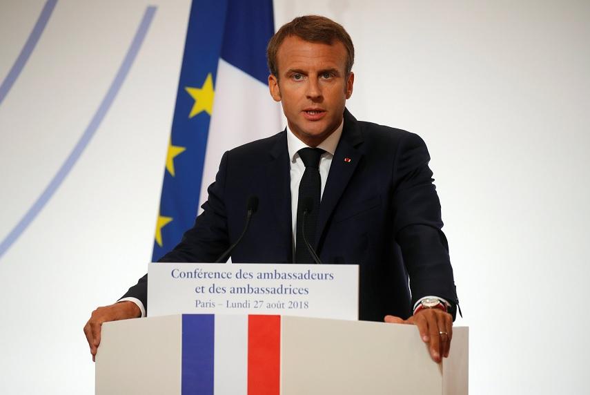 Macron: Europa ya no puede entregar su seguridad a EU