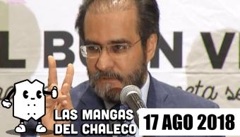 Las Mangas Del Chaleco René Bejarano Regresa Política Despedidas Ernesto Cordero Peña Nieto Errores Dedo Sep