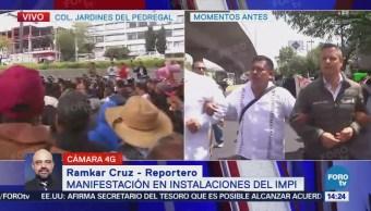 Manifestantes Mezcaleros Intentan Cerrar Circulación Periférico Sur
